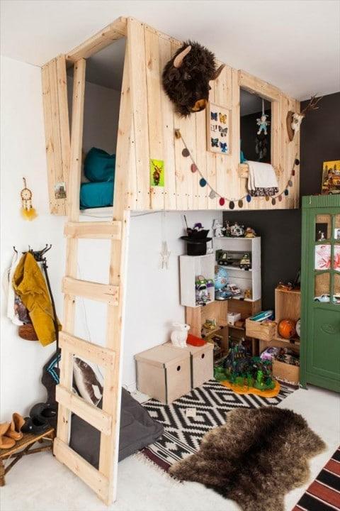 Quartos criativos crianças a craft (28)