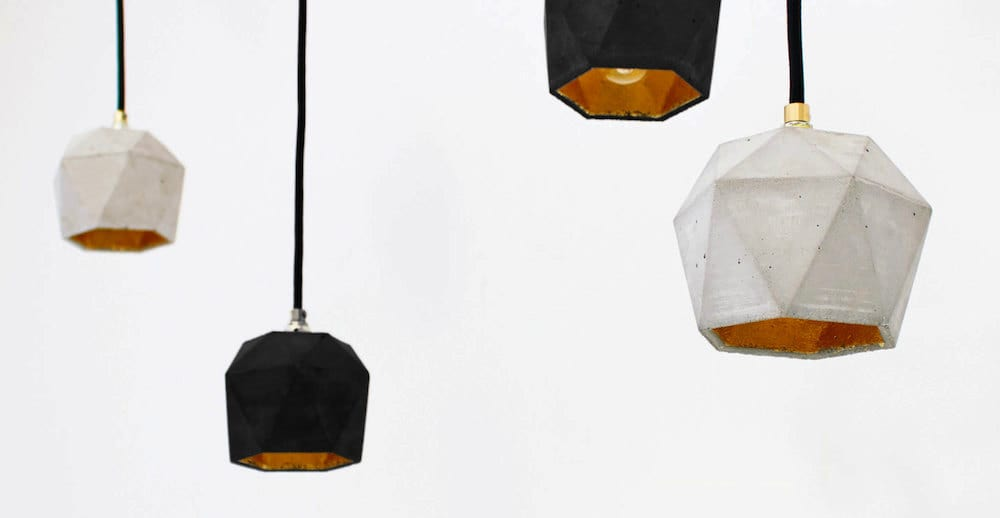 T1-Geometric-Concrete-Pendant-Lamp-with-Gold-Leaf-Inside-by-GANTlights-on-Etsy