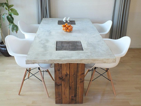 interesting-diy-concrete-dining-table
