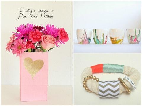 10 DIYs presentes criativos para o Dia das Mães