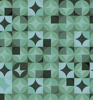 Tecido adesivo - Flok Disco Verde 1m x 0,5m