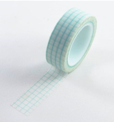Washi tape - Quadriculado verde