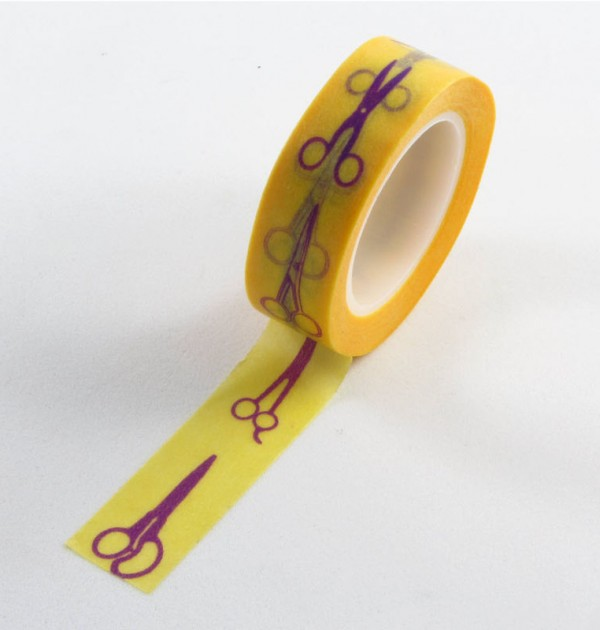 Washi tape - Tesouras