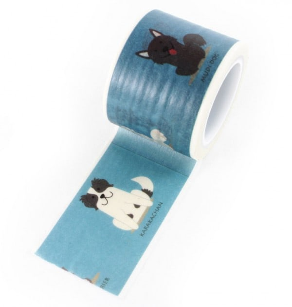 Washi tape - Cachorros