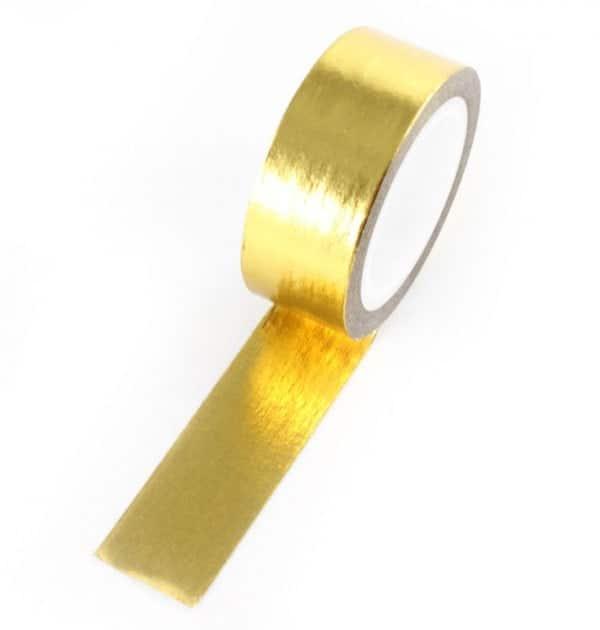 Washi tape - Dourada