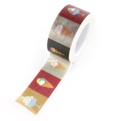 Washi tape - Sorvetes