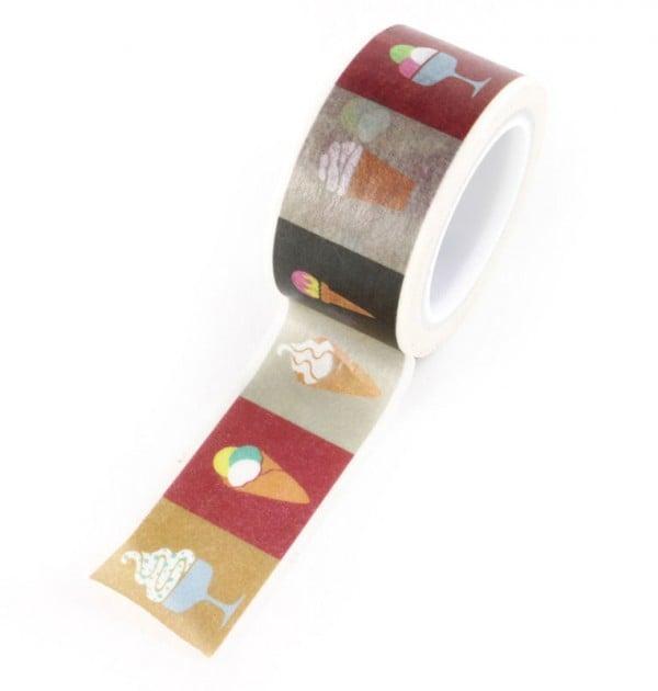 Washi tape - Sorvetes