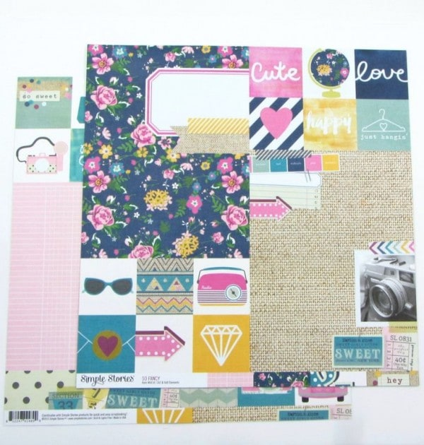 Journaling cards - Simple stories 2
