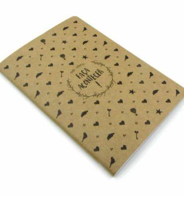 Planner A.Craft - Bloco caderno Faça acontecer