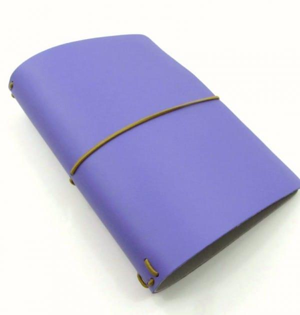Planner A.Craft - Capa roxo uva (para 4 blocos)