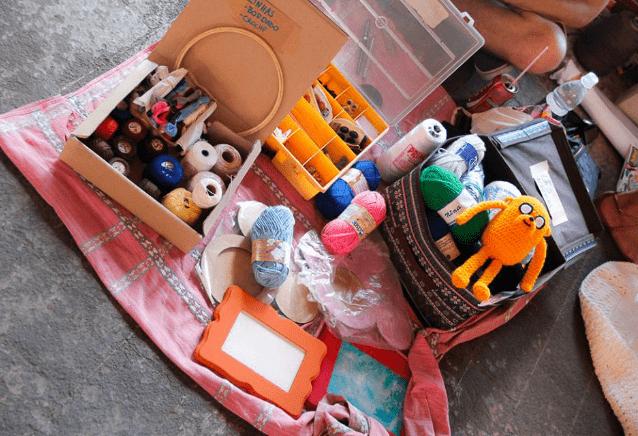Feira de trocas escambo handcraft