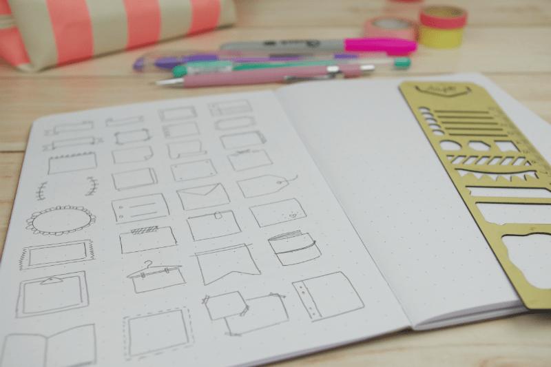 Planner E Bullet Journal Como Decorar Com Desenhos A Craft