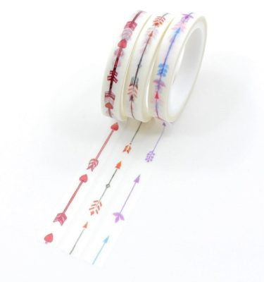 kit 3 washi tapes flexas