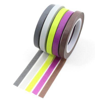 kit_washi_tapes_cinzas_verde_limão_roxo_marrom