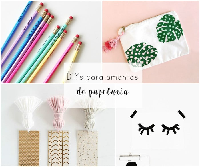 Ideias DIY para amantes de papelaria