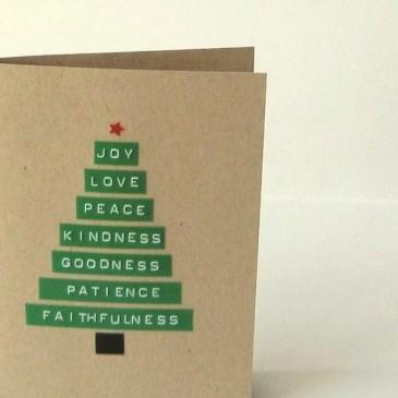 cartão feito a mão
