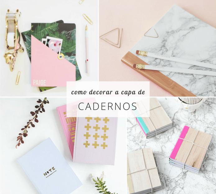 Como decorar a capa de cadernos: 8 ideias fáceis 3