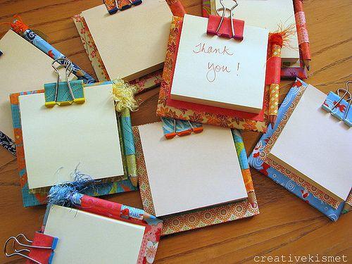 natal craft bloco de notas