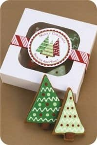 embalagem de natal craft