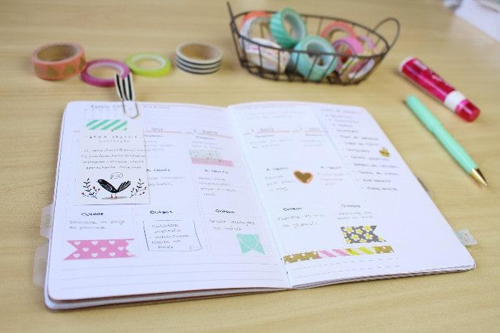 Como decorar o planner em menos de 5 minutos