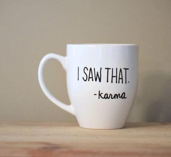 Karma existe?