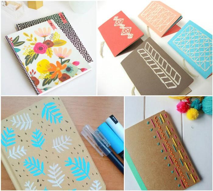 Como decorar a capa de cadernos: 8 ideias fáceis 2
