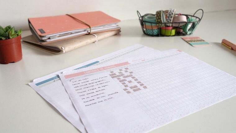 Controle de hábitos freebie printable grátis para baixar planner 1
