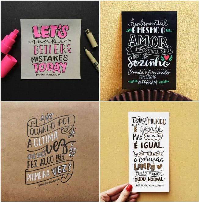 Lettering planner estudos inspiração ideias decoração planner 1 2