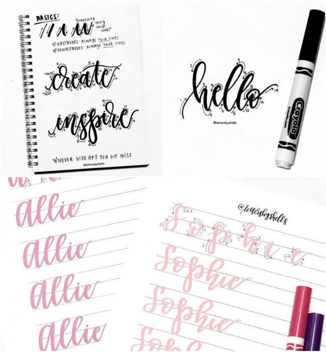 Lettering planner como fazer inspiração ideias decoração planner 1 2