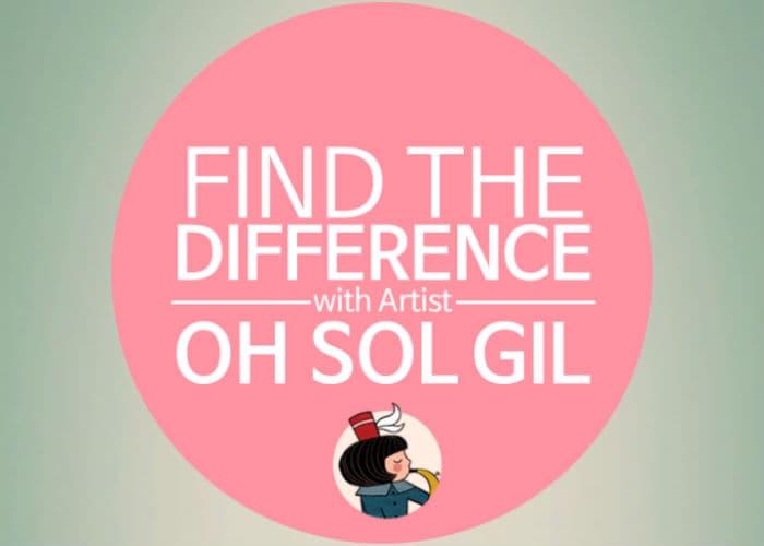 Find the difference: um jogo para quem aprecia ilustração