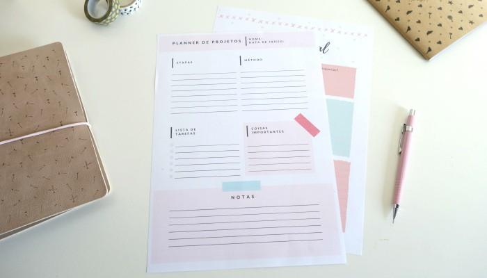 Planner semanal: ferramenta para criar e personalizar o seu grátis 3