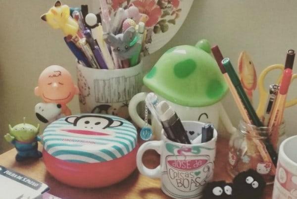 7 dicas de decoração para a mesa do escritório 10