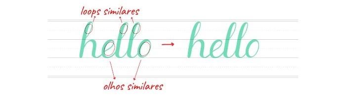 Brush Lettering - Dicas de como fazer e freebie grátis para treinar 10
