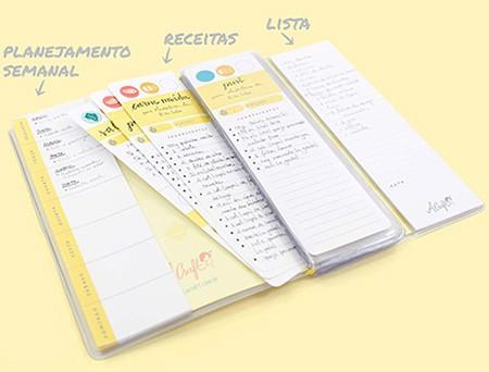 planejamento semanal receitas e lista de compra tudo junto