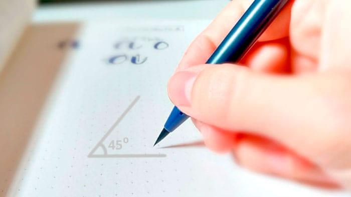 Brush Lettering - Dicas de como fazer e freebie grátis para treinar 4