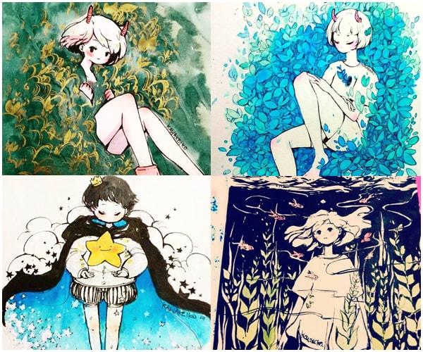 7 ilustradoras maravilhosas para seguir 6