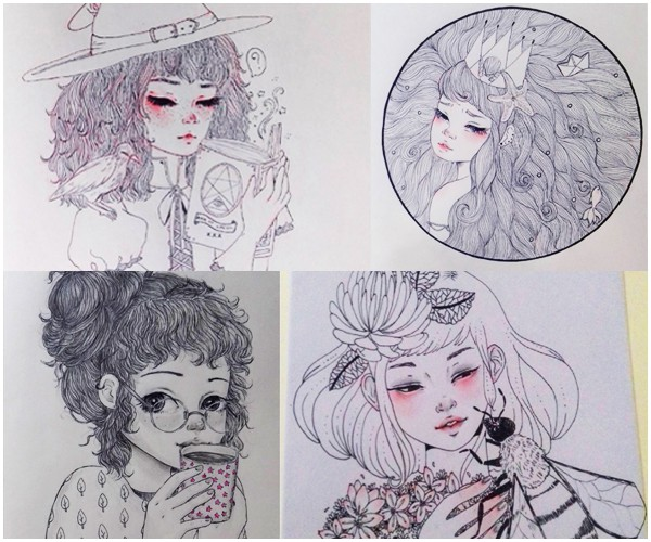 7 ilustradoras maravilhosas para seguir 5