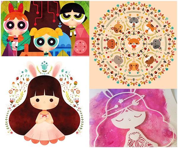7 ilustradoras maravilhosas para seguir 4