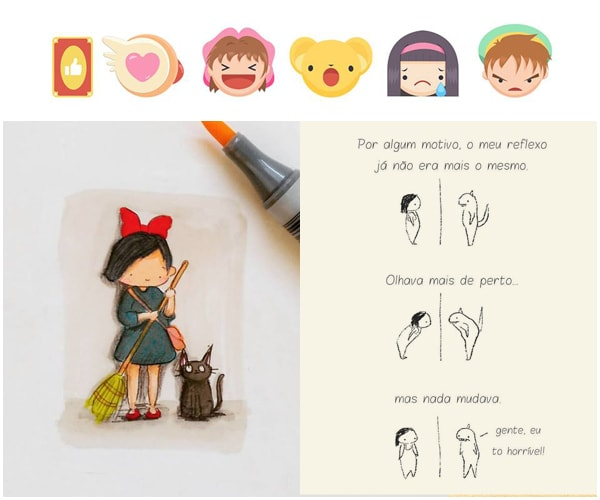 7 ilustradoras maravilhosas para seguir 1