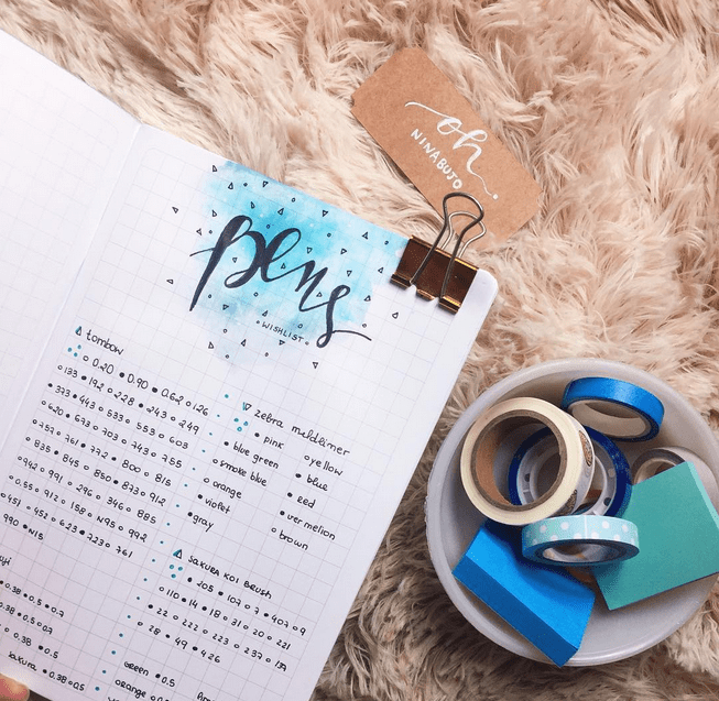 decoracao planner bullet journal acraft bujo 3