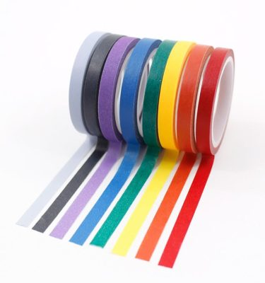 Kit-8-washi-tapes---Cores-escuras