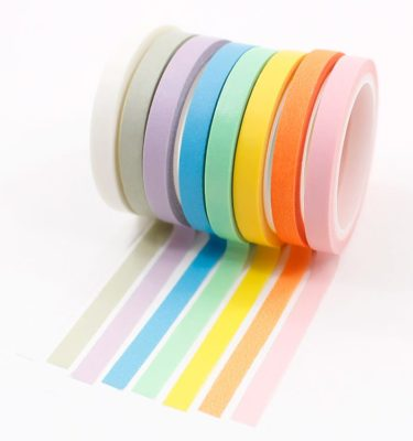 Kit-8-washi-tapes---Cores-pastel