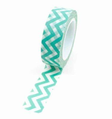 Washi-tape---Chevron-verde-menta