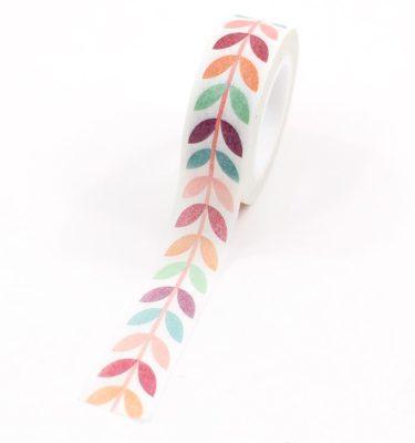 Washi-tape---Folhas-coloridas