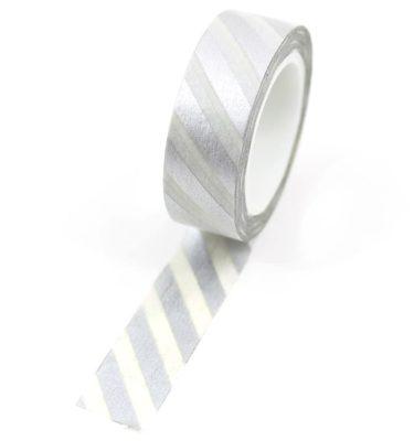Washi-tape---Listrado-prateado