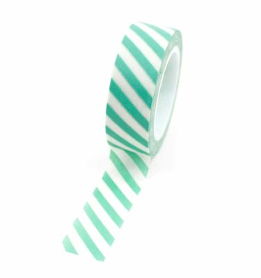 Washi-tape---Listrado-verde