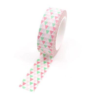 Washi-tape---Triângulos-rosa-e-verde