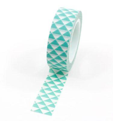 Washi-tape---Triângulos-verde