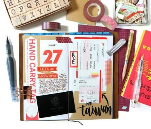 como fazer um diario de viagem travel journal (11)