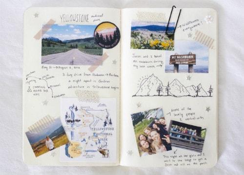 como fazer um diario de viagem travel journal (4)
